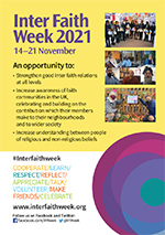 Inter Faith Week 2021 flyer