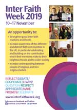 Inter Faith Week 2019 flyer